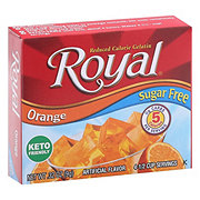 Royal Sugar Free Orange Gelatin Mix