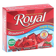Royal Sugar Free Strawberry Gelatin Mix