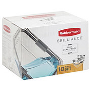 Rubbermaid Brilliance Clear
