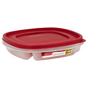 Rubbermaid Divided Easy Find Lids Food Storage Container