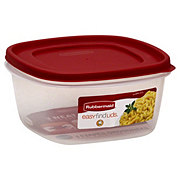 Rubbermaid Easy Find Lids Food Storage Container 14 cup
