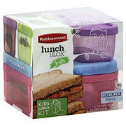 Rubbermaid LunchBlox Kids Tall Lunch Kit for Girls