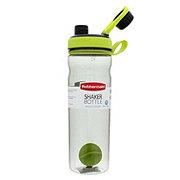 Rubbermaid Shaker Bottle, Black/ Green