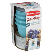 Rubbermaid Snack To Go, Assorted Colors
