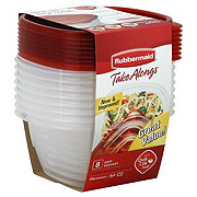 Rubbermaid Take Alongs Deep Square Containers