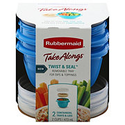 Rubbermaid TakeAlongs Lids Trays & Container Set