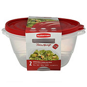 Rubbermaid TakeAlongs Serving Bowl 13 Cup Food Storage Containers