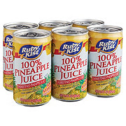 Ruby Kist 100% Pineapple Juice 5.5 oz Cans