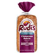 Rudi's Gluten-Free Bakery Cinnamon Raisin Sandwich Bread
