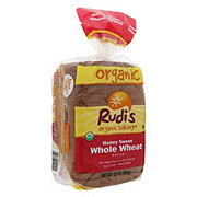 Rudi's Organic Bakery Honey Sweet Whole Wheat Bread