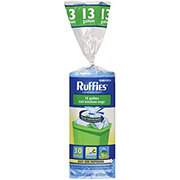 Ruffies Blue Recycling Bags 13 Gallon