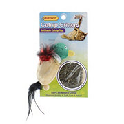 Ruffin' It Catnip Critters Refillable Catnip Toy Duck