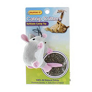 Ruffin' It Catnip Critters Refillable Catnip Toy Mouse