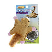 Ruffin' It Catnip Critters Refillable Catnip Toy Squirrel