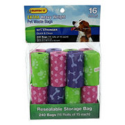 Ruffin' It Extra Heavy Weight Pet Waste Bags