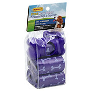 Ruffin' It Extra Heavy Weight Pet Waste Bags with Dispenser