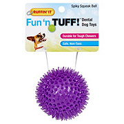 Ruffin' It Mighty Tuff Assorted Spiky Squeaky Ball