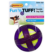 Ruffin' It Mighty Tuff Tennis Ball, Assorted Colors