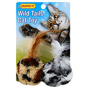 Ruffin' It Wild Tails Cat Toy