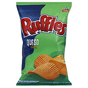 Ruffles Queso Cheese Flavored Potato Chips