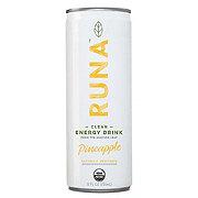 Runa Pineapple Clean Energy Drink