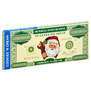 Russell Stover Cookies And Cream Santa Money Bar