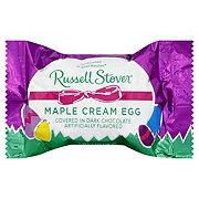 Russell Stover Dark Chocolate Maple Cream Egg