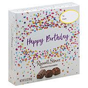Russell Stover Happy Birthday Chocolate Square Box