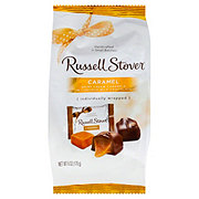 Russell Stover Milk Chocolate Caramels Mini Gusset Bag