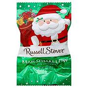 Russell Stover Milk Chocolate Marshmallow Santa