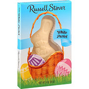 Russell Stover Solid White Pastell Bunny