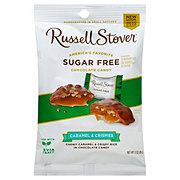 Russell Stover Sugar Free Caramel & Crispies Covered In Chocolate Candy