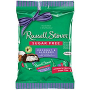 Russell Stover Sugar Free Coconut & Almonds Covered In Dark Chocolate