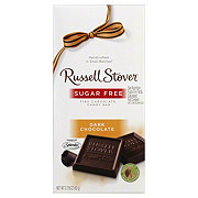 Russell Stover Sugar Free Dark Chocolate Candy Bar