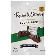 Russell Stover Sugar Free Premium Dark Solid Chocolate