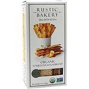 Rustic Bakery Olive Oil & Sel Gris Organic Sourdough Flat Bread