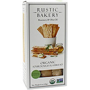 Rustic Bakery Rosemary & Olive Oil Organic Sourdough Flat Bread