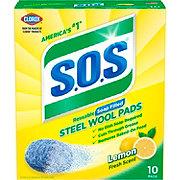 S.O.S Lemon Fresh Scent Steel Wool Soap Pads