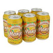 Saborsazo Pure Cane Sugar Mango Soda 12 oz Cans