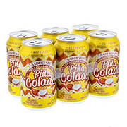Saborsazo Pure Cane Sugar Pineapple Coconut Soda 12 oz Cans