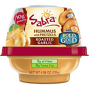 Sabra Hummus with Pretzels Roasted Garlic
