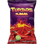 Sabritas Turbos Flamas Corn Snacks