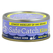 Safe Catch Elite Garlic Herb Tuna