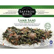 Saffron Road Lamb Saag With Basmati Rice