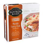 Saffron Road Masala Curry Fish With Basmati Rice