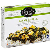 Saffron Road Palak Paneer with Basmati Rice