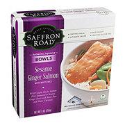 Saffron Road Sesame Ginger Salmon With White Rice