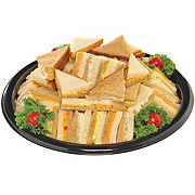Salad Party Finger Sandwich Tray
