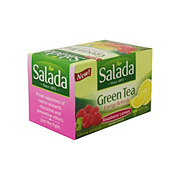 Salada Green Tea Energy Refresh Raspberry Lemon