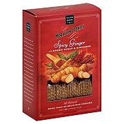 Salem Baking Moravian Cookies Spicy Ginger With Brown Sugar and Cinnamon